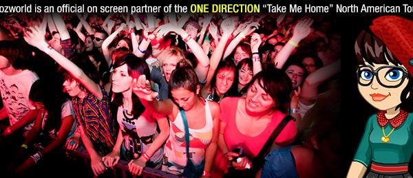One Direction Woozworld Music Videos