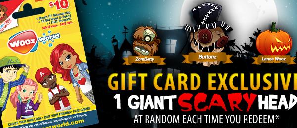 Woozworld gift card SCARY update!