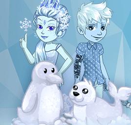 BATAILLE GLACIALE : la Reine des Glaces contre Jack Frost !
